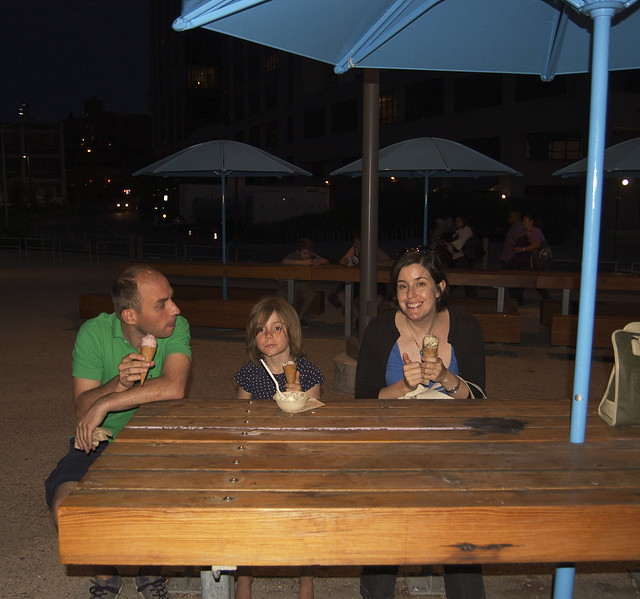 Ice Cream on the Pier