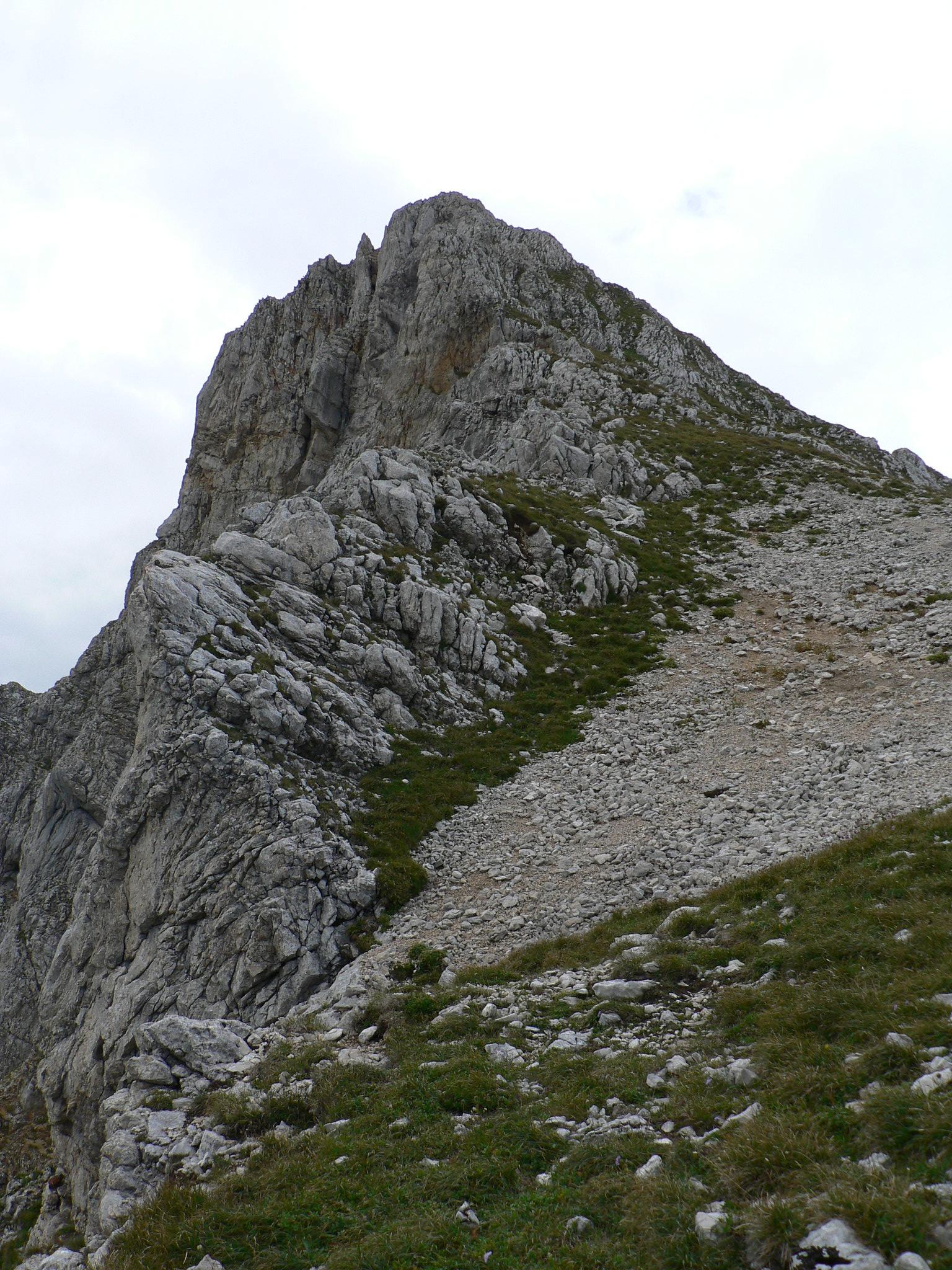 The eastern ridge of la Grande Moucherolle