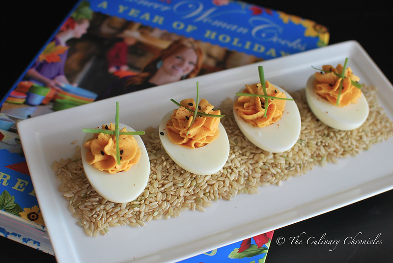 Sriracha Deviled Eggs + The Pioneer Woman Holiday Cookbook ...