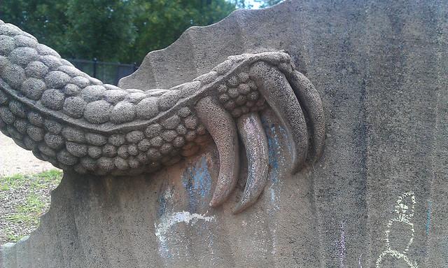 Bryan Park Dimetrodon