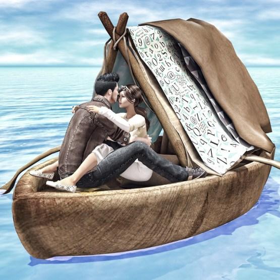 Honeymooning...