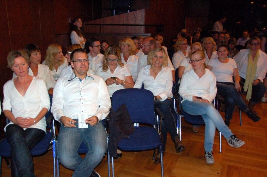 2014-10-16 Foreigner Background Chor, Stuttgart Liederhalle, 16. November 2014