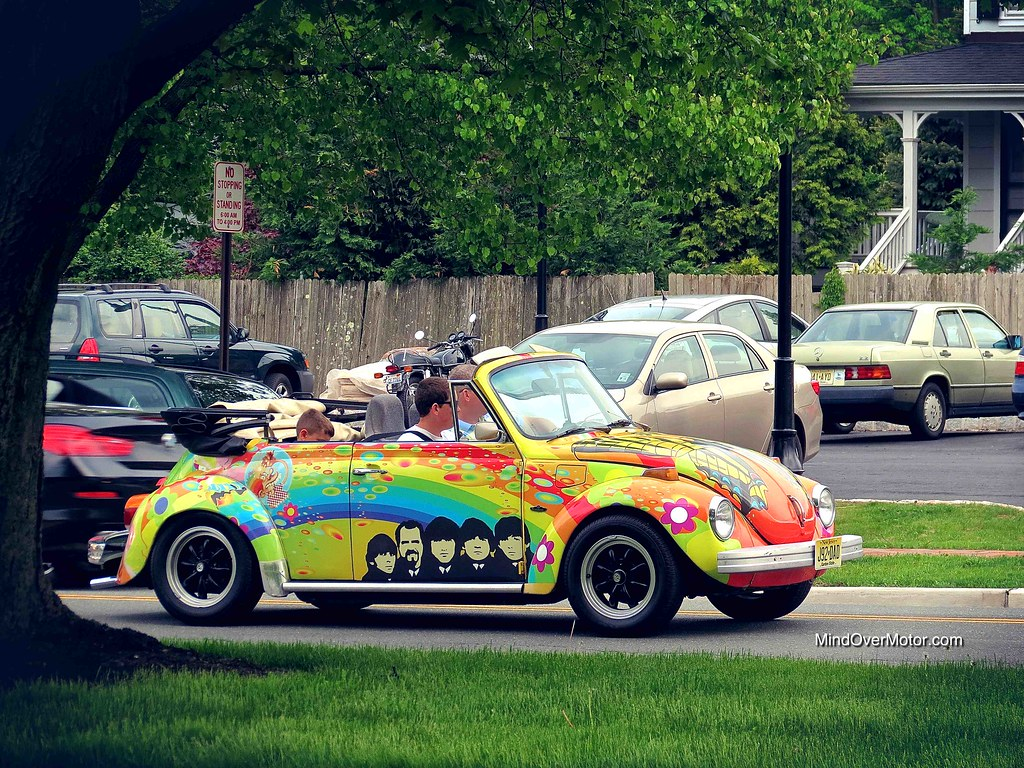 The Beatles' Volkswagen Beatle at Hopewell Cruise Night