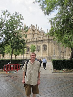 The Cathedral in Sevilla