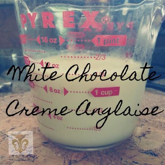 White Chocolate Creme Anglaise