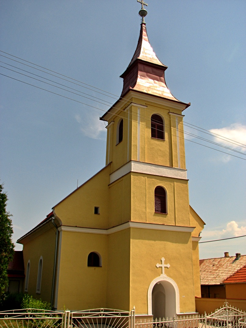 Evanjelický kostol v Záhorciach
