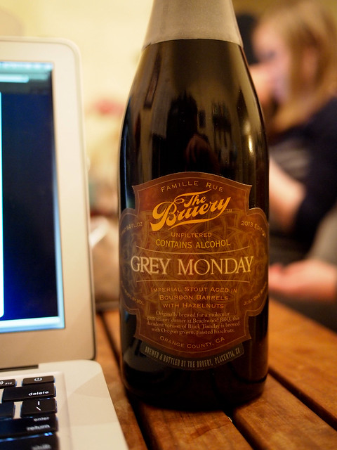 The Bruery Grey Monday