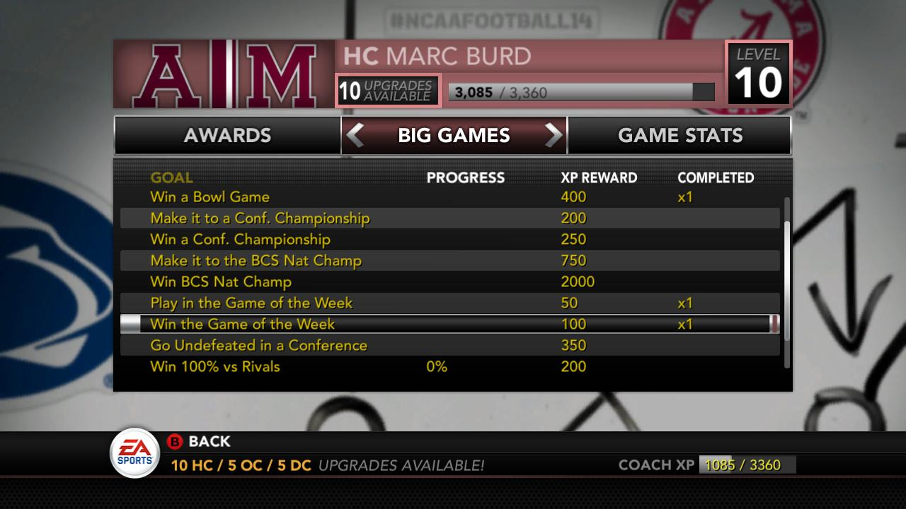 NCAA Football 14 Pre Release QampA Dynasty Page 2