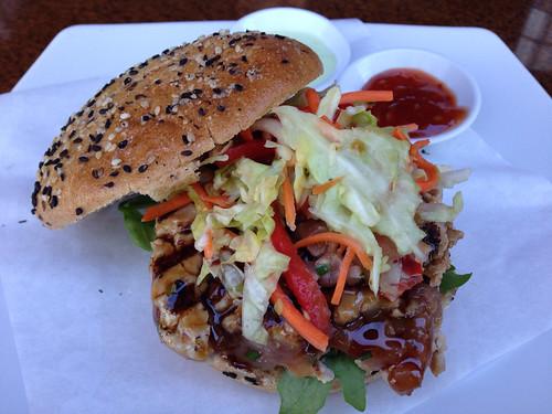 Wild Prime Tuna Burger