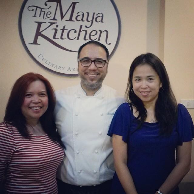 With Chef Aracama
