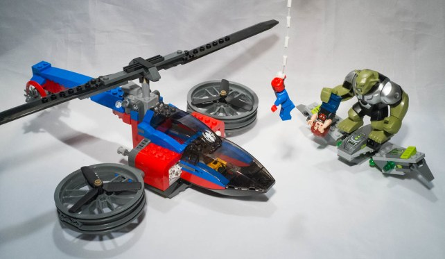 REVIEW LEGO 76016 Marvel Spiderman
