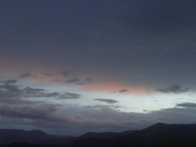 Sunset, Atlas Mountains