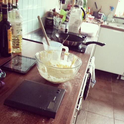 #glutenfree #pancakes for the birthday boy! Aka @thecgbj
