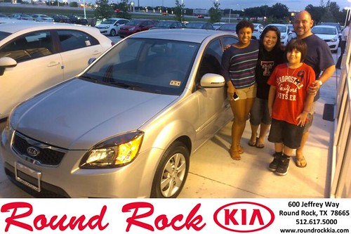 Thank you to Mariah Ramirez on your new 2011 Kia Rio from Kent Turner and everyone at Round Rock Kia! by RoundRockKia