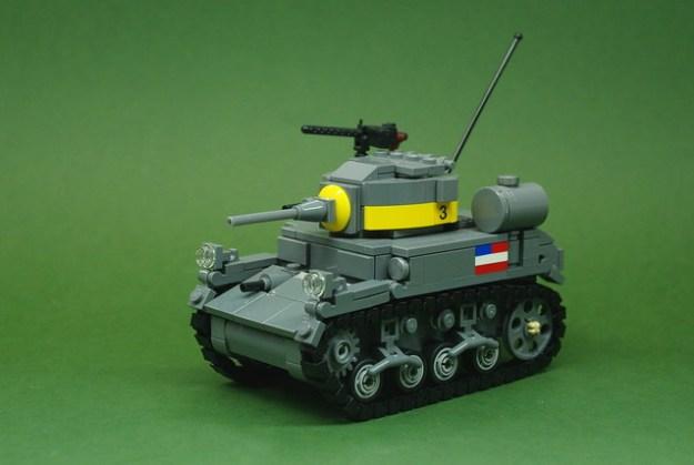 M3A1 Stuart tank (1)