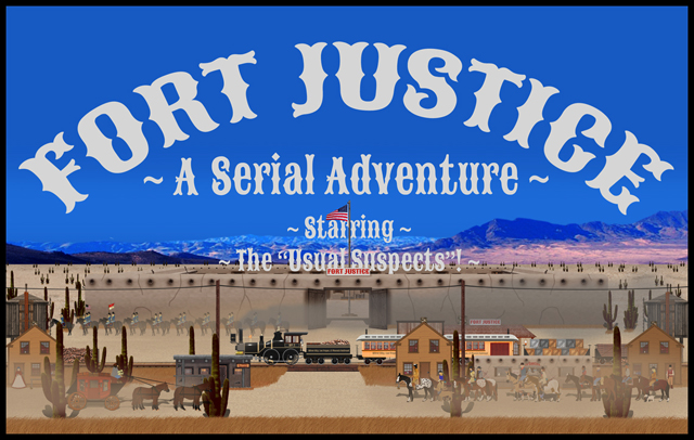 Fort & Town of Fort Justice Banner 3