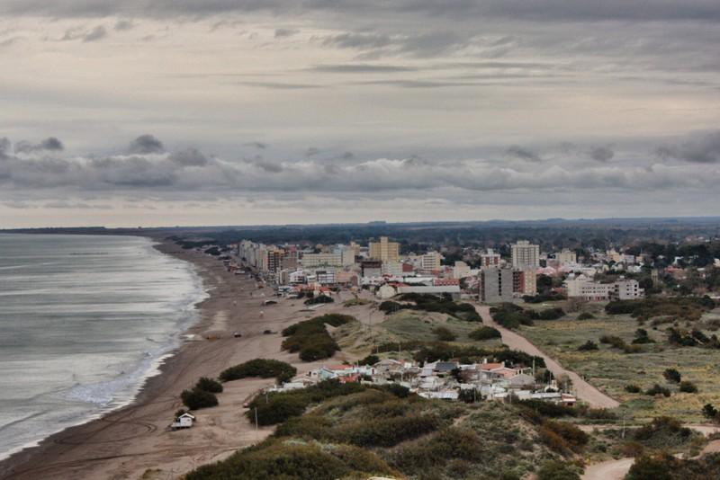 Vista de Monte Hermoso desde el Faro Recalada