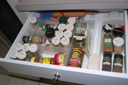 After: Spice Drawer