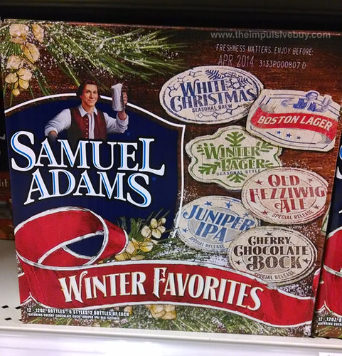 Samuel Adams Winter Favorites 2013