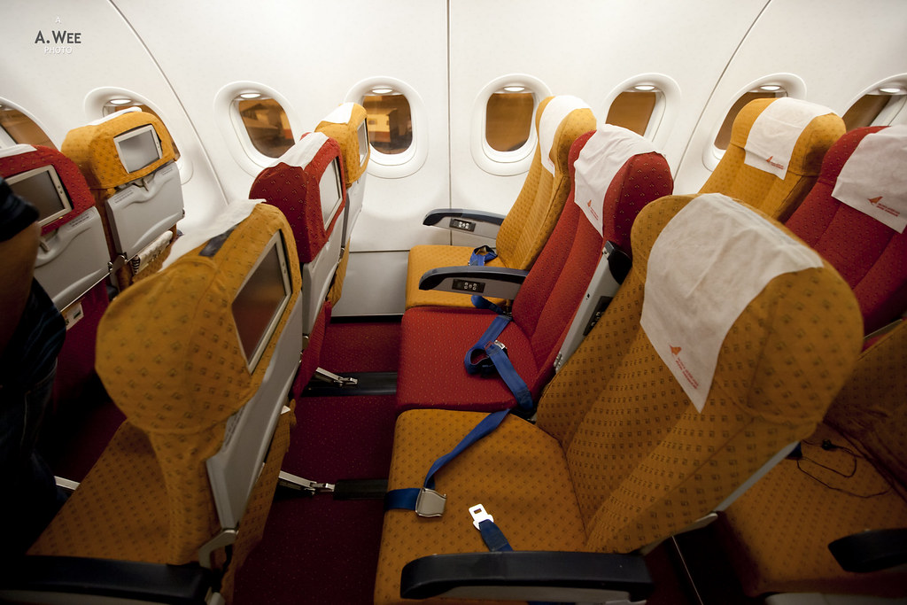 Air India Airbus A321 Economy Class Seats