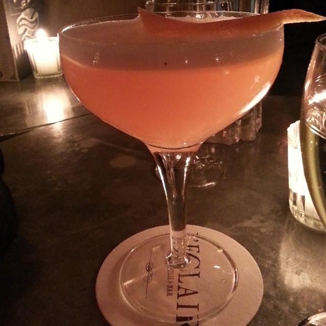 Summertime Sadness cocktail at l'Eclair. #Paris #cocktails #bars 75007