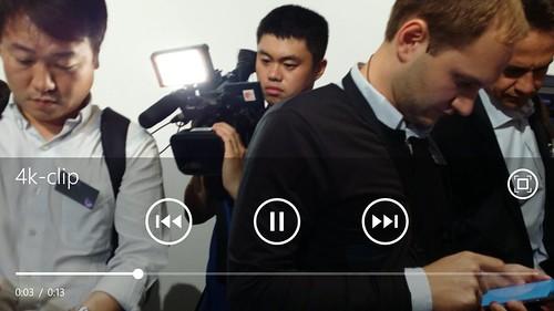 Nokia Lumia 1520 เล่นไฟล์วิดีโอ 4K สบายๆ