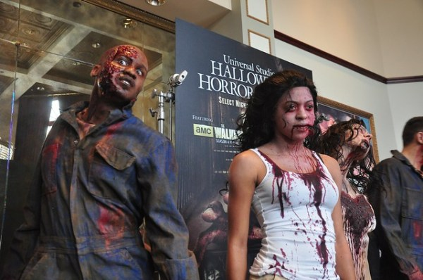 Halloween Horror Nights 2013 makeup and costume preview at Universal Studios Hollywood