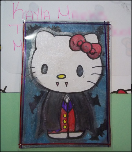 Hello Kitty ATC by oddbroad