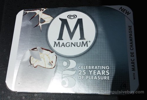 Magnum Ice Cream Bars with Marc De Champagne (U.K.)