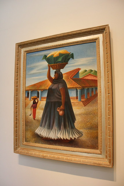 'Woman from Tehuantepec' by Miguel Covarrubias, San Antonio Museum of Art