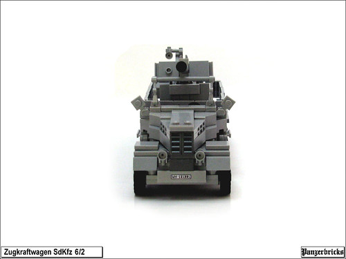 SdKfz 6/2 FlaK 36 37mm. de Panzerbricks