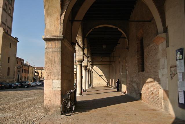 Portico del palazzo della famiglia Gonzaga