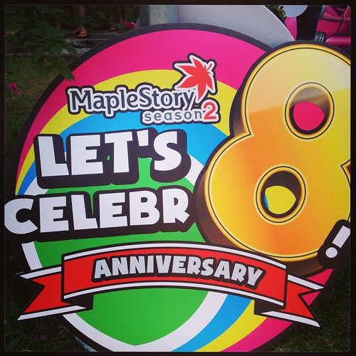 MapleStory, MapleSEA, Let's Celebr8, MapleSEA item codes giveaway