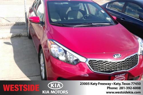 Thank you to Iris Jimenez on your new 2014 Kia Forte from Orlando Baez and everyone at Westside Kia! by Westside KIA