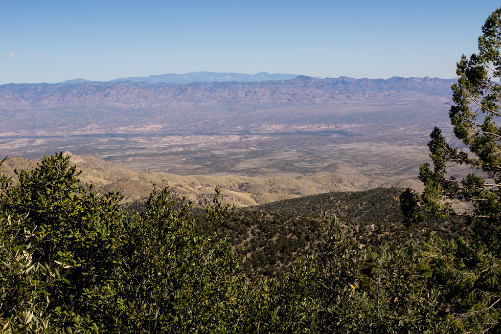 1310 Mount Graham in the Distance from the San Pedro Vista