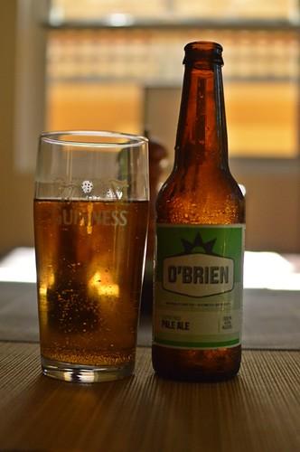 O'Brien gluten-free beer