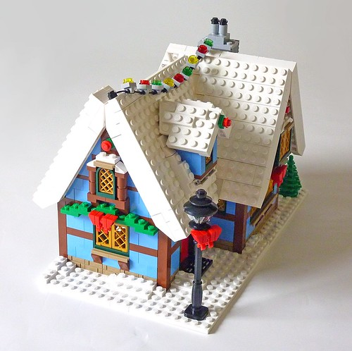 LEGO 10229 Winter Village Cottage b17