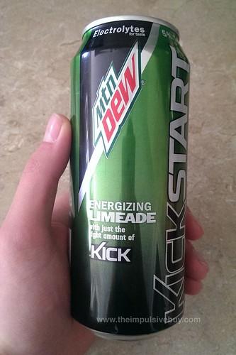 Mountain Dew Kickstart Energizing Limeade