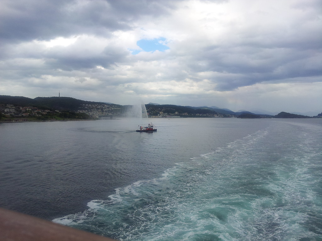 Leaving Alesund