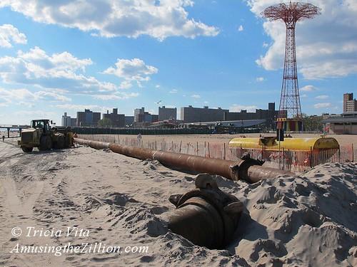 Post-Sandy Beach Replenishment