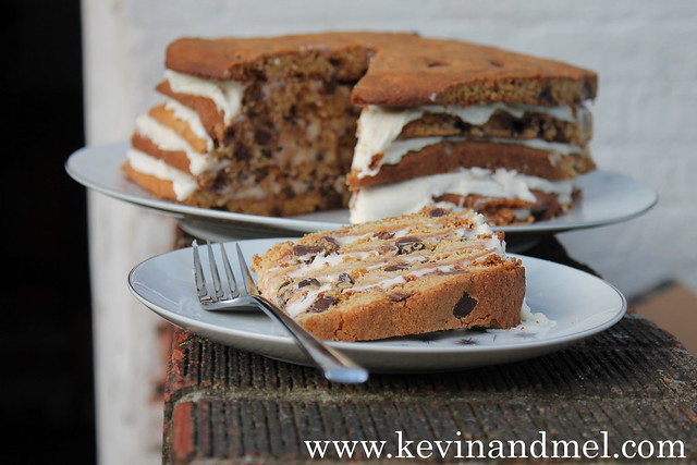 11_15_2013 Chocolate Chip Cookie Cake - 2