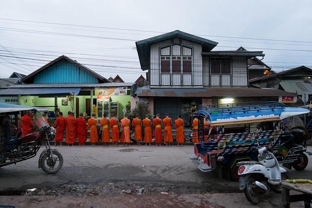 Alms, Luang Prabang, Laos
