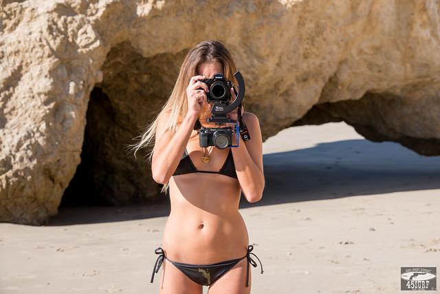 Modeling Sony A7R ! Swimsuit Bikini Model Goddess Shooting Stills (Sony A7R with 35mm F/2.8 Carl Zeiss) & Video (Sony NEX6)