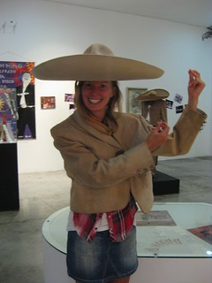 Annie in traditional Mariachi costume