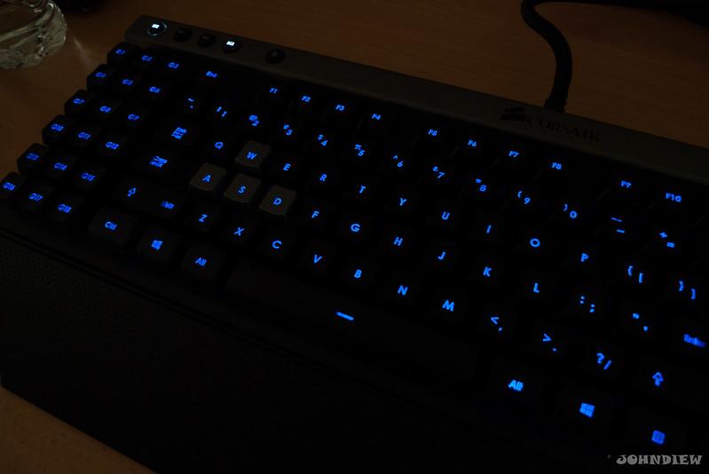 Corsair Raptor K30 and K50 Gaming Keyboards 46