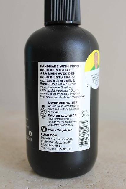 lush eau roma review