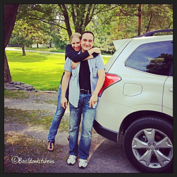 Aug 18 - someone you spoke to today {daughter & son-in-law} #fmsphotoaday #family #daughter #soninlaw