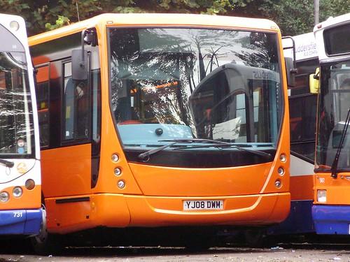Huddersfield Bus Company 721 - 2008 VDL Plaxton Centro YJ08DWM