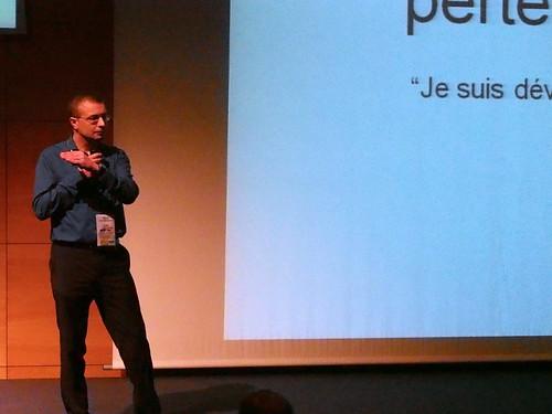 AG 13 : Keynote de Pascal Van Cauwenberghe (1)