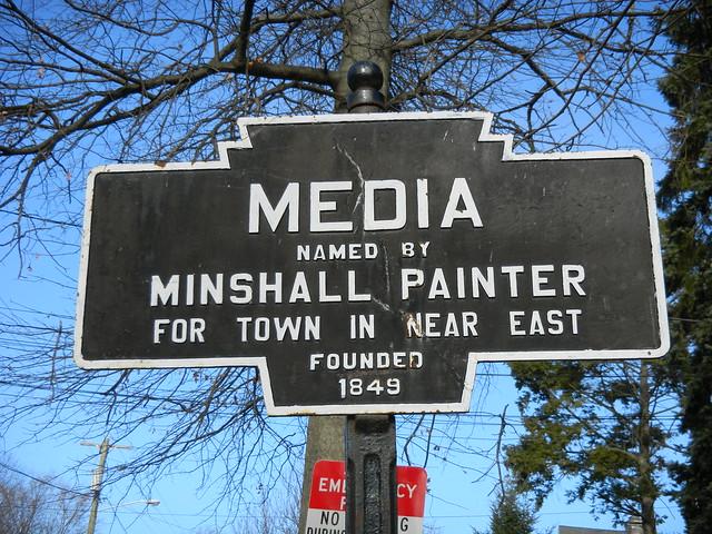 My Minshall Tour around Media, PA